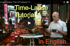 Time-Lapse  Tutorial 1 in English