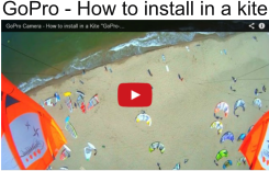 GoPro - How to install in a kite
